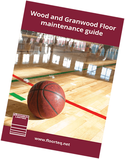 Image of the Floorteq wood and Granwood floor maintenance guide